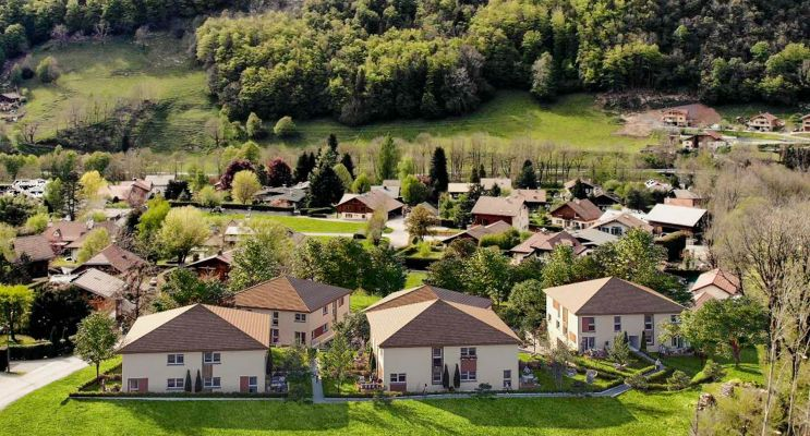 Photo du Résidence « Les Carrés de Vaunessin » programme immobilier neuf en Loi Pinel à Thônes