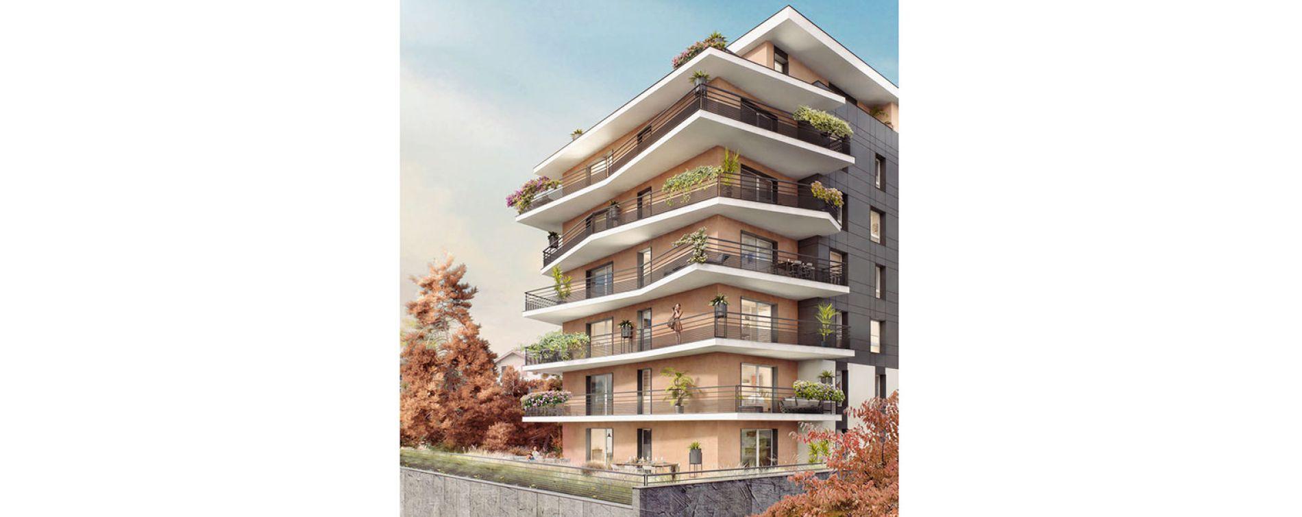 Thonon-les-Bains : programme immobilier neuve « City Zen » (2)