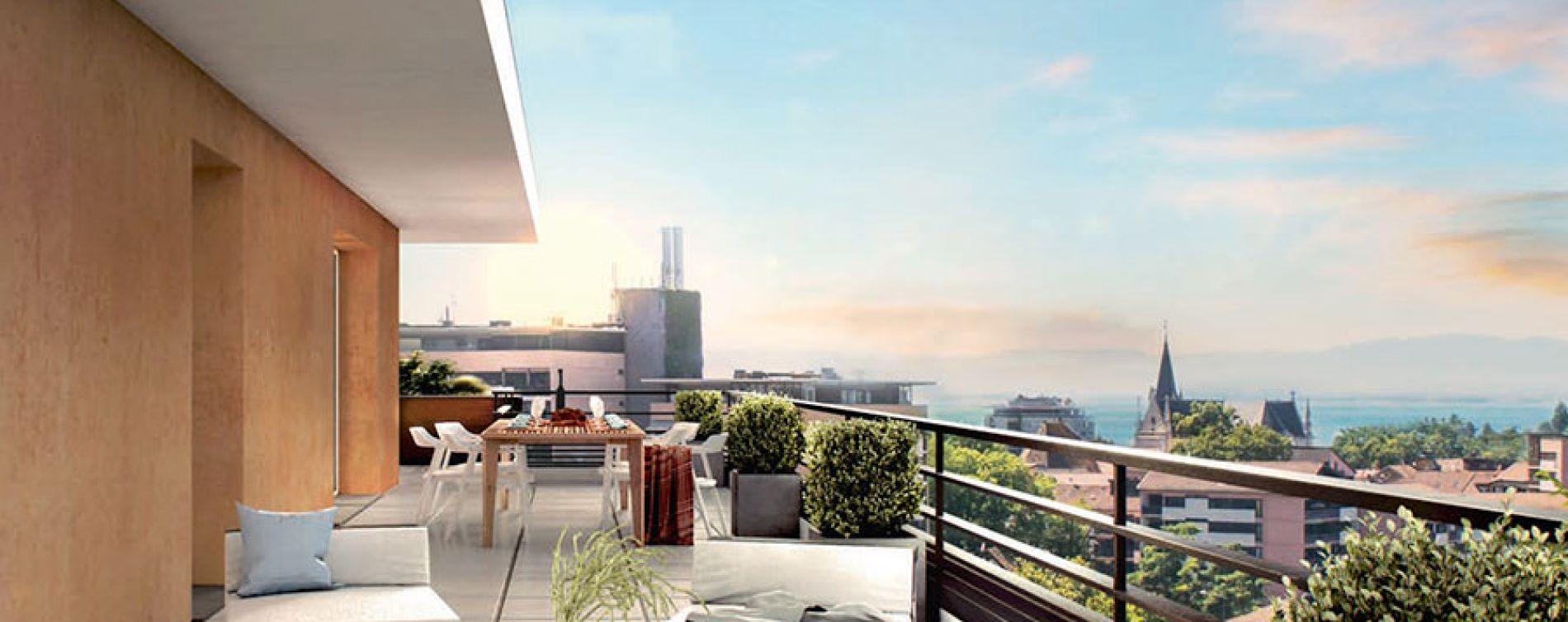 Thonon-les-Bains : programme immobilier neuve « City Zen » (3)