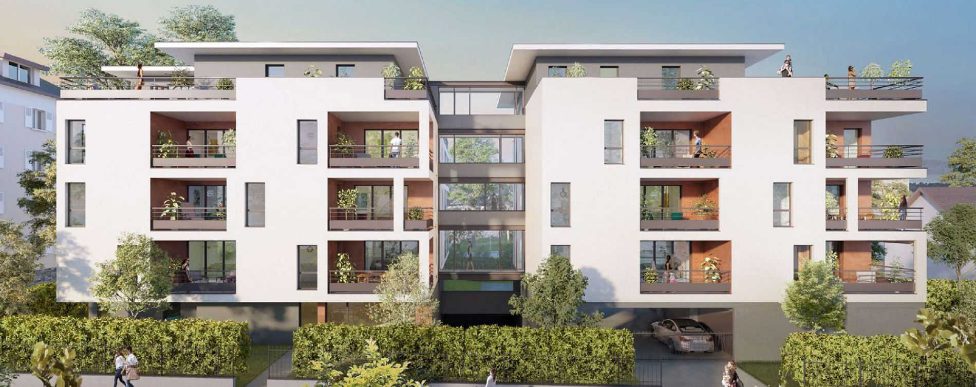 Thonon-les-Bains : programme immobilier neuve « Intimi'T » en Loi Pinel