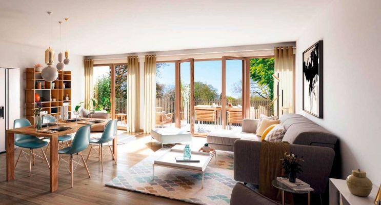 Thorens-Glières : programme immobilier neuf « Oxygène » en Loi Pinel