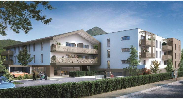 Photo du Résidence « Le Jardin D'Aubeline » programme immobilier neuf en Loi Pinel à Thyez