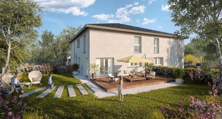 Résidence « Les Carrés Des Sens » programme immobilier neuf en Loi Pinel à Veigy-Foncenex