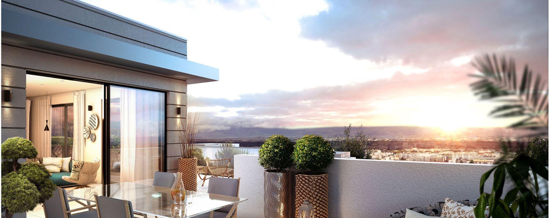 Vétraz-Monthoux : programme immobilier neuve « Domaine de Lux'Or Tr 2 » en Loi Pinel (2)