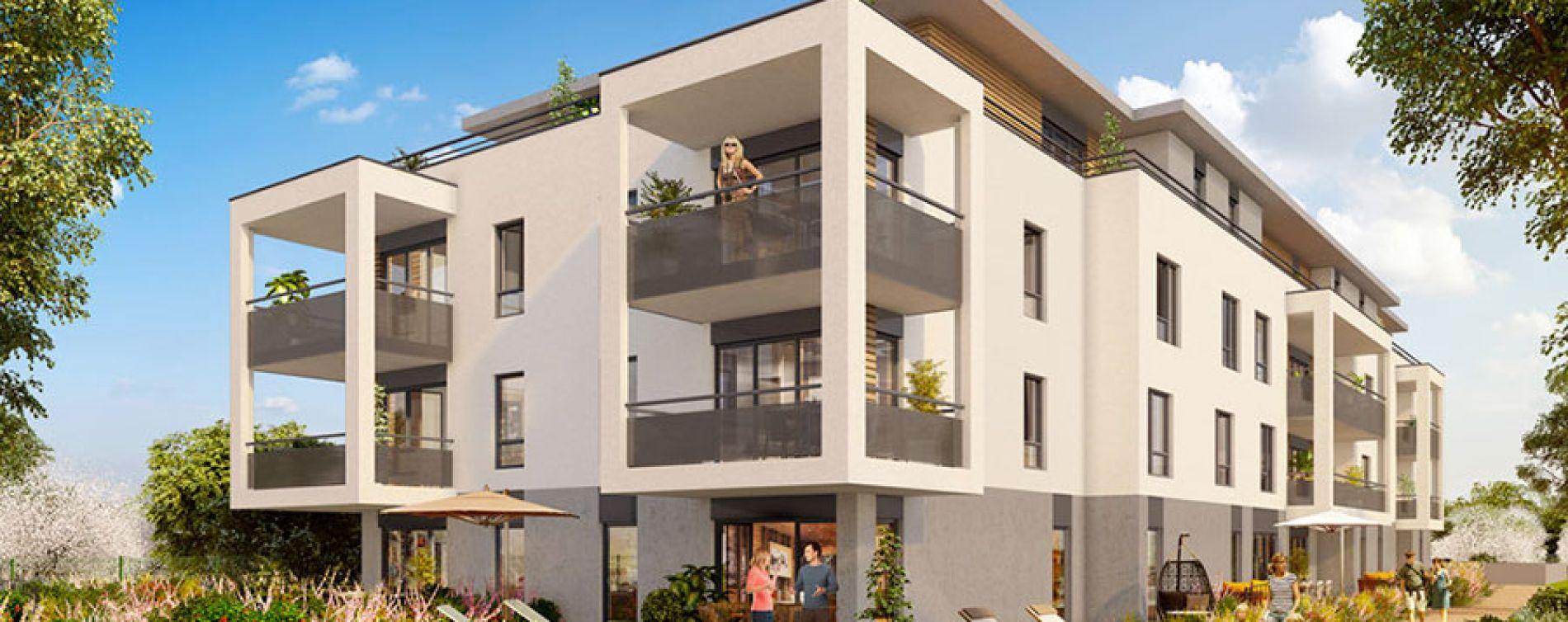 Vétraz-Monthoux : programme immobilier neuve « Le Dahlia »