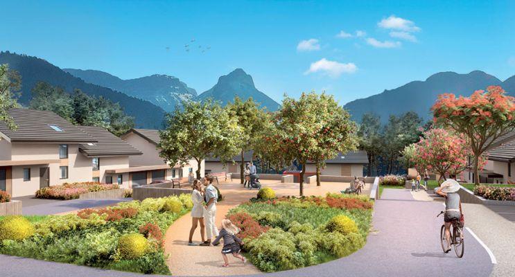 Photo du Résidence « Villas Lumières » programme immobilier neuf à Villaz