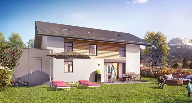 Photo n°2 du Résidence « Villas Lumières » programme immobilier neuf à Villaz