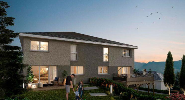 Photo du Résidence « Les Carrés Horizon » programme immobilier neuf en Loi Pinel à Vovray-en-Bornes