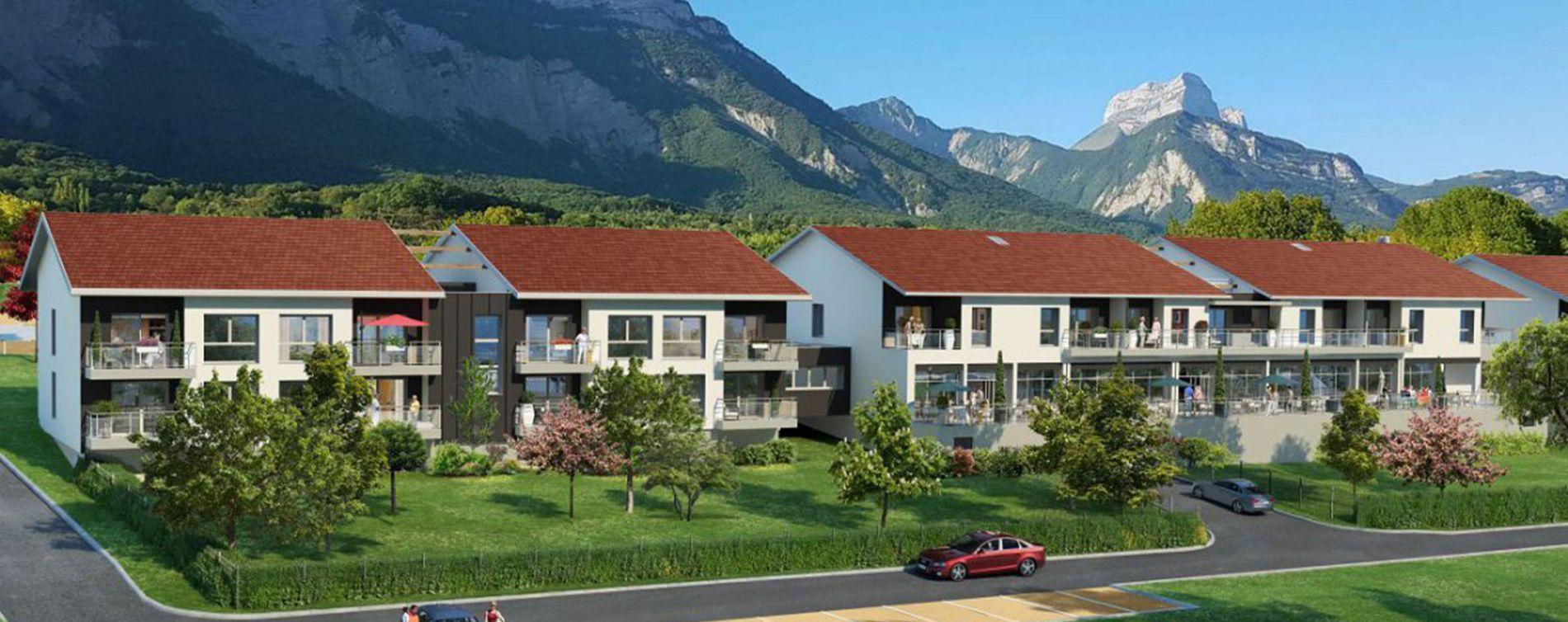 Biviers : programme immobilier neuve « Les Terrasses de Belledonne »