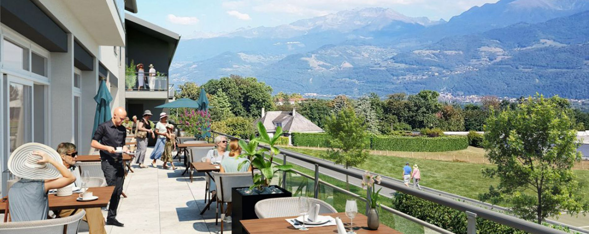 Biviers : programme immobilier neuve « Les Terrasses de Belledonne » (2)