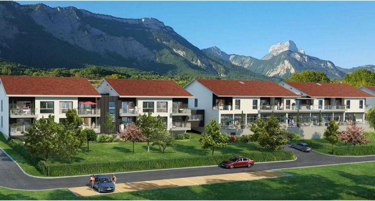 Photo du Résidence « Les Terrasses de Belledonne » programme immobilier neuf à Biviers