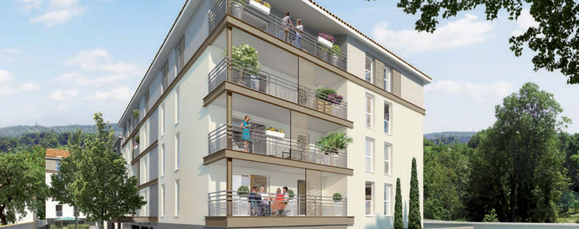 Résidence Les Balcons du Centre à Chasse-sur-Rhône