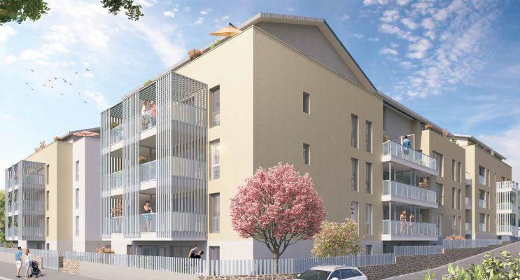 Photo du Résidence « Les Jardins de Lou » programme immobilier neuf en Loi Pinel à Chasse-sur-Rhône