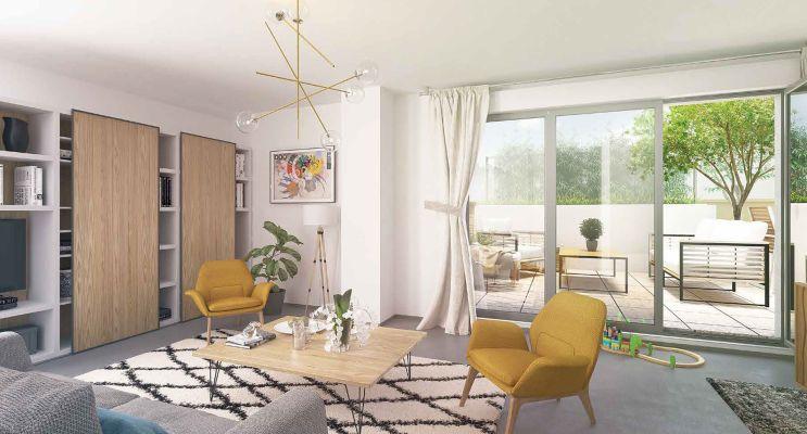 Photo n°3 du Résidence « Les Jardins De Lou » programme immobilier neuf en Loi Pinel à Chasse-sur-Rhône