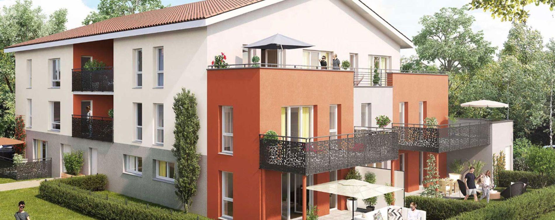 Chasse-sur-Rhône : programme immobilier neuve « Les Terrasses du Pilat » en Loi Pinel (2)