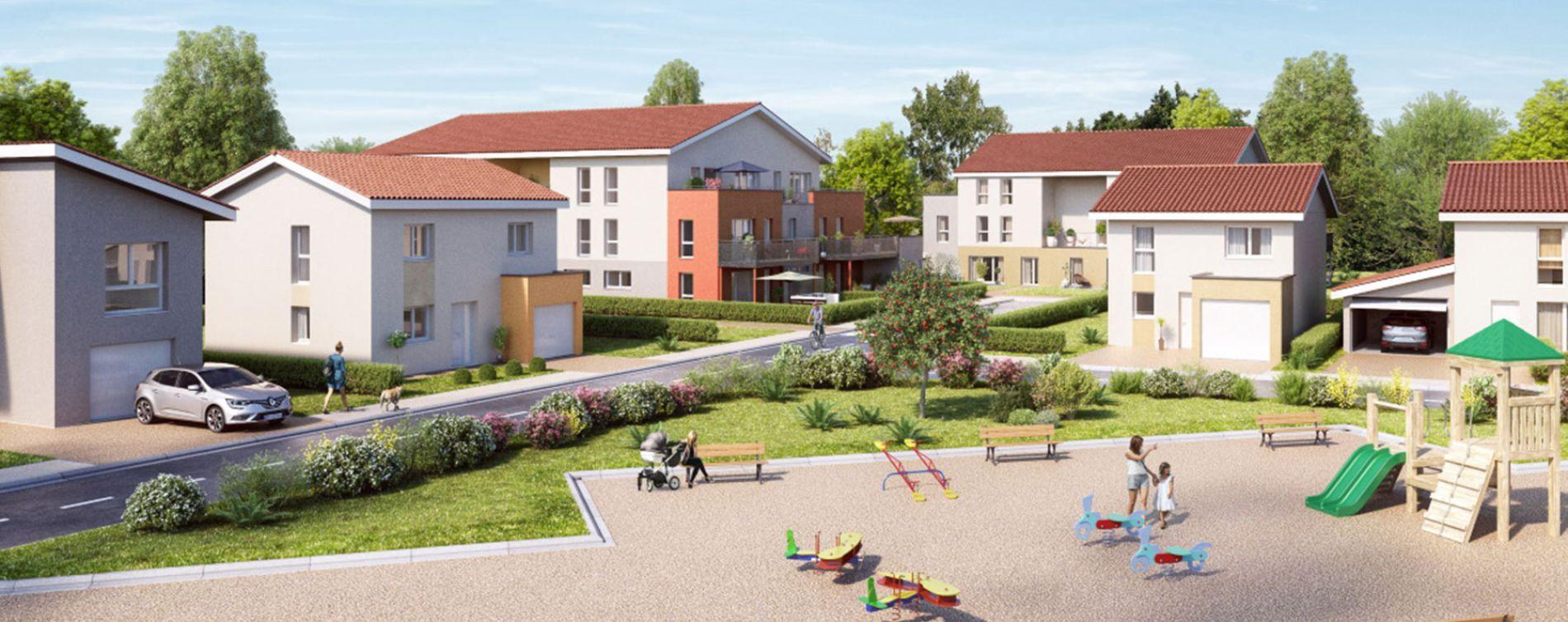 Chasse-sur-Rhône : programme immobilier neuve « Les Terrasses du Pilat » en Loi Pinel (3)
