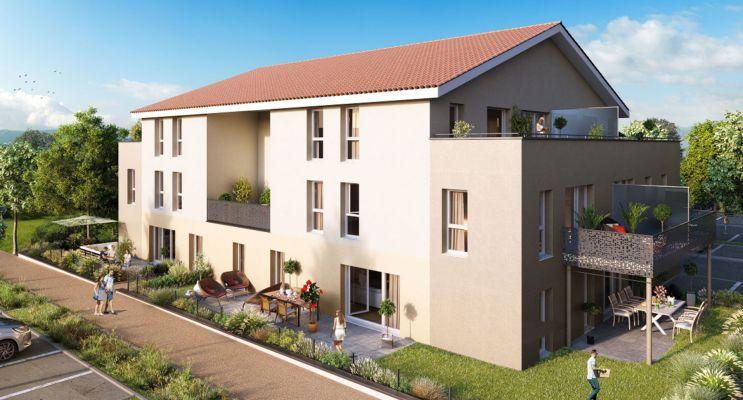 Chasse-sur-Rhône : programme immobilier neuf « Les Terrasses du Pilat » en Loi Pinel