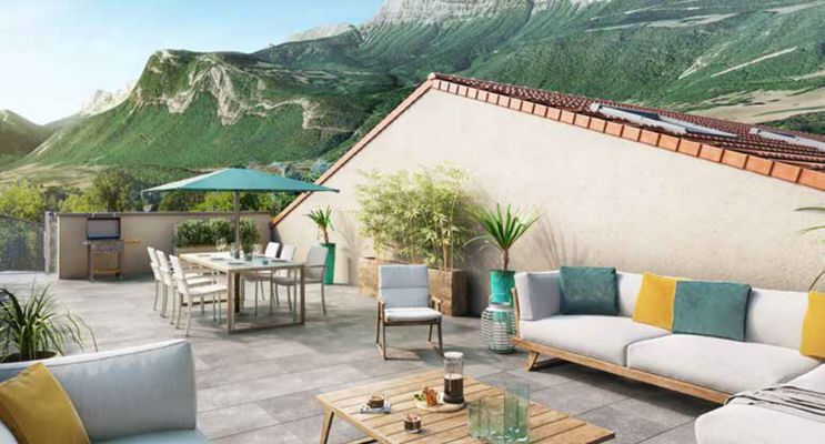 Claix : programme immobilier neuf « Villa Verdana » en Loi Pinel