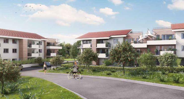 Résidence « Villa Verdana » programme immobilier neuf en Loi Pinel à Claix n°2