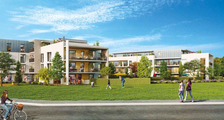 Photo du Résidence « Natur'A » programme immobilier neuf à Coublevie