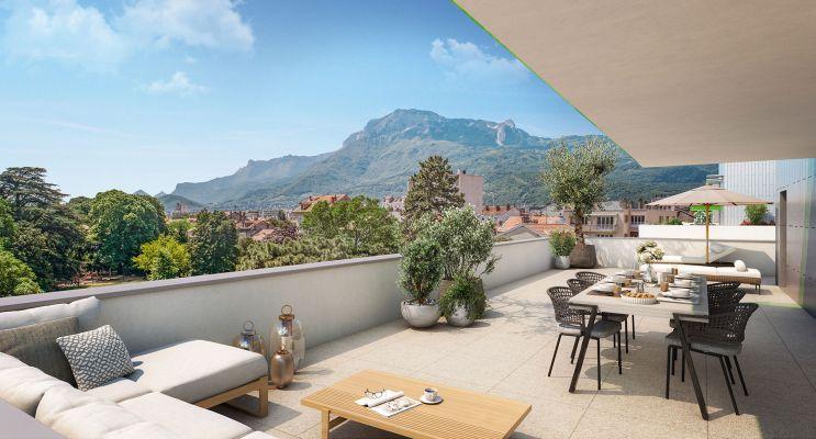 Grenoble : programme immobilier neuf « La Manufacture » en Loi Pinel