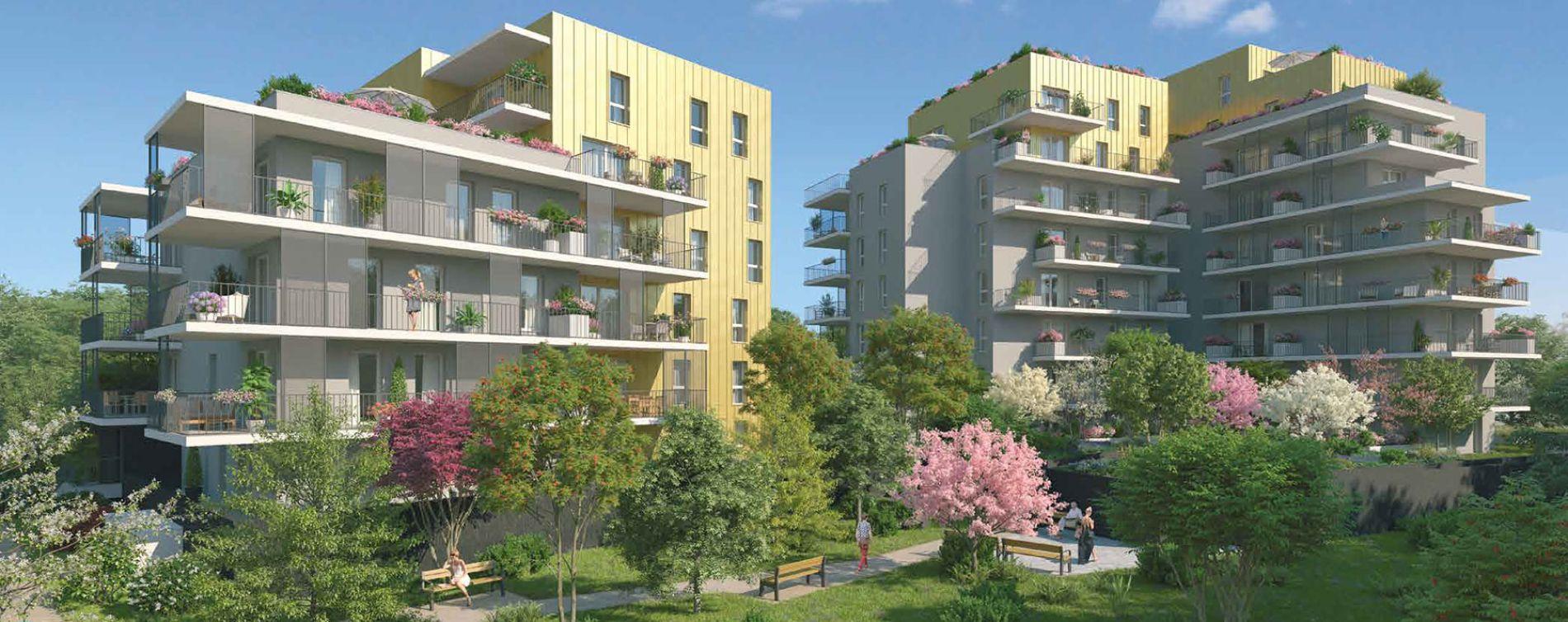 Grenoble : programme immobilier neuve « Le Gaïa » en Loi Pinel
