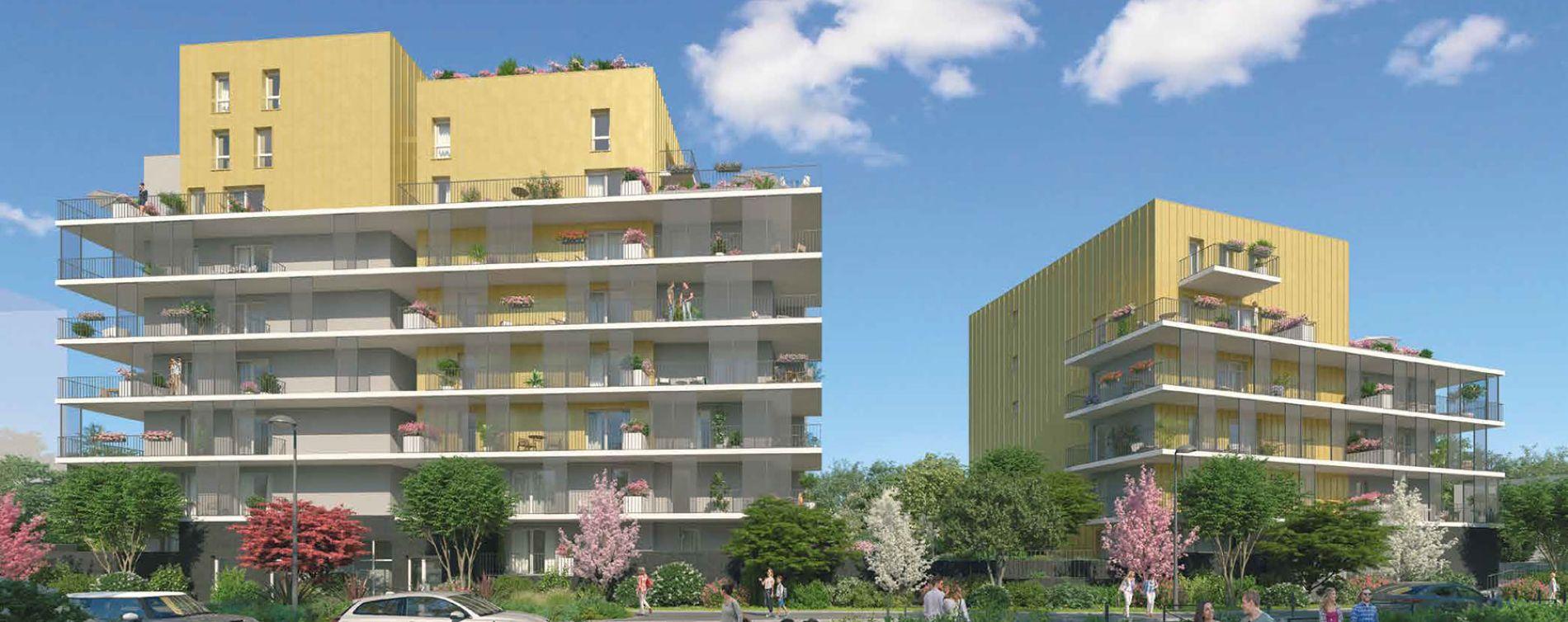 Grenoble : programme immobilier neuve « Le Gaïa » en Loi Pinel (2)