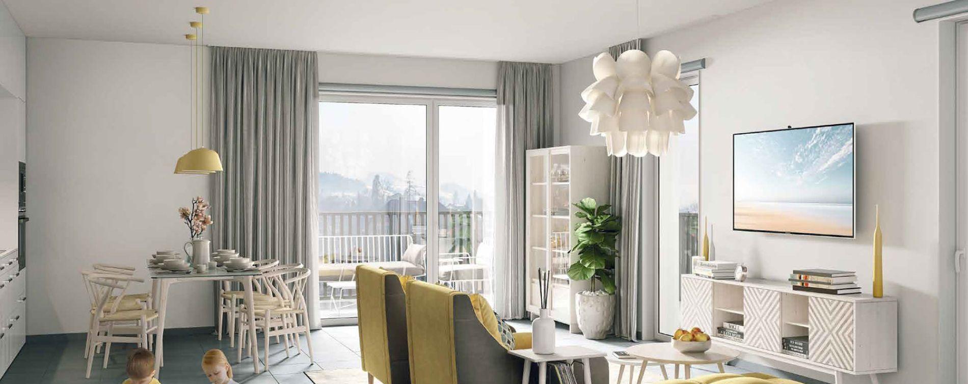 Grenoble : programme immobilier neuve « Le Gaïa » en Loi Pinel (3)