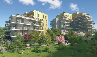 Grenoble : programme immobilier neuf « Le Gaïa » en Loi Pinel