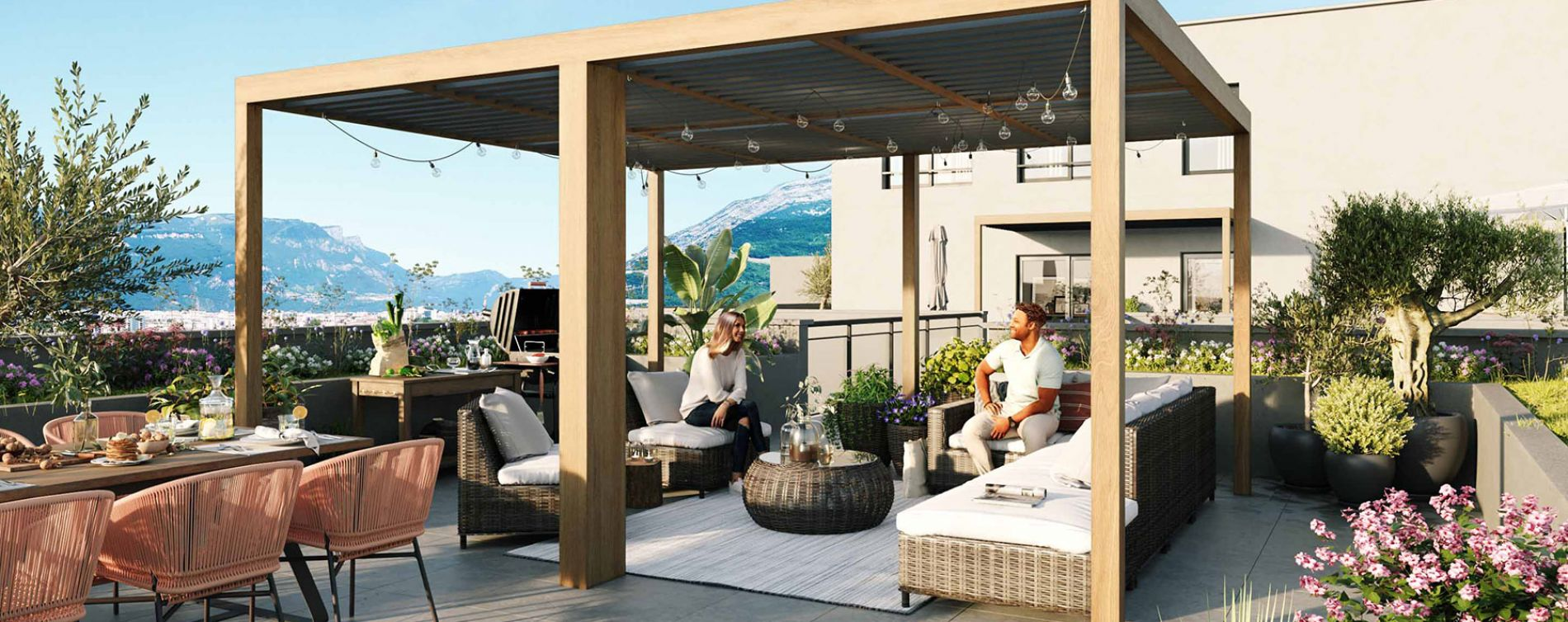 Grenoble : programme immobilier neuve « L'Emeraude » en Loi Pinel (3)