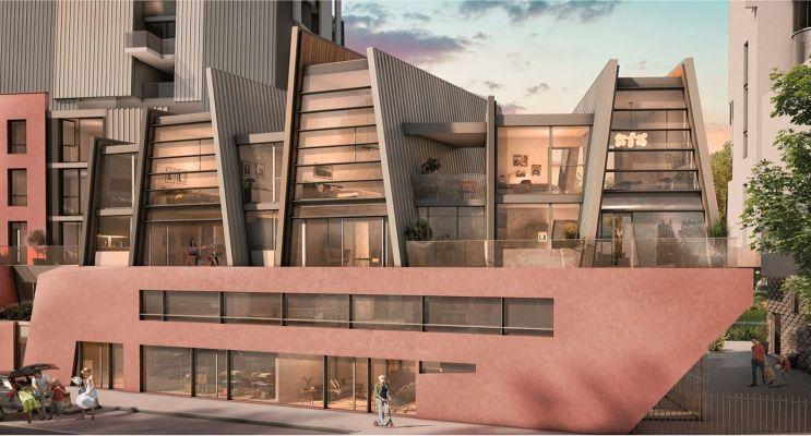 Résidence « Open Sky » programme immobilier neuf en Loi Pinel à Grenoble n°2