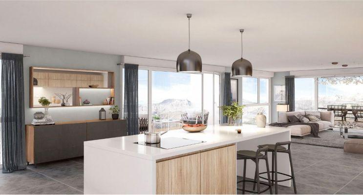 Résidence « Open Sky » programme immobilier neuf en Loi Pinel à Grenoble n°3
