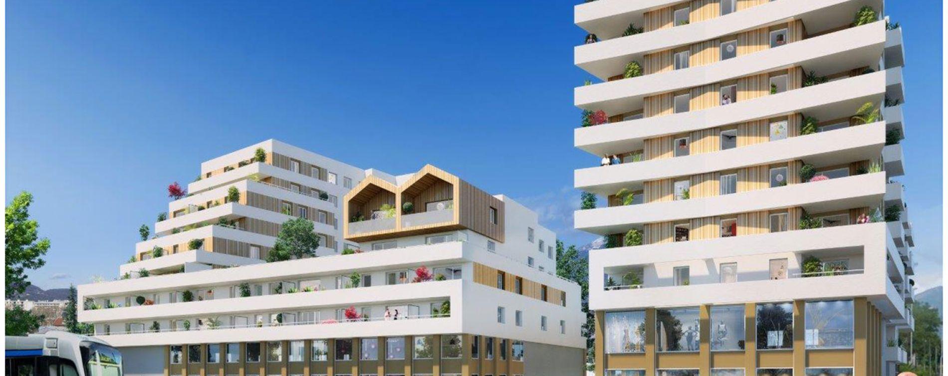 Le Pont-de-Claix : programme immobilier neuve « Impulsion »