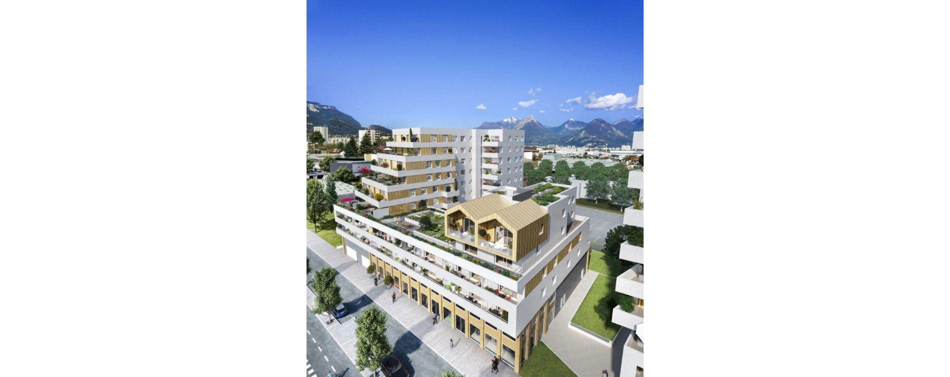 Le Pont-de-Claix : programme immobilier neuve « Impulsion » (2)