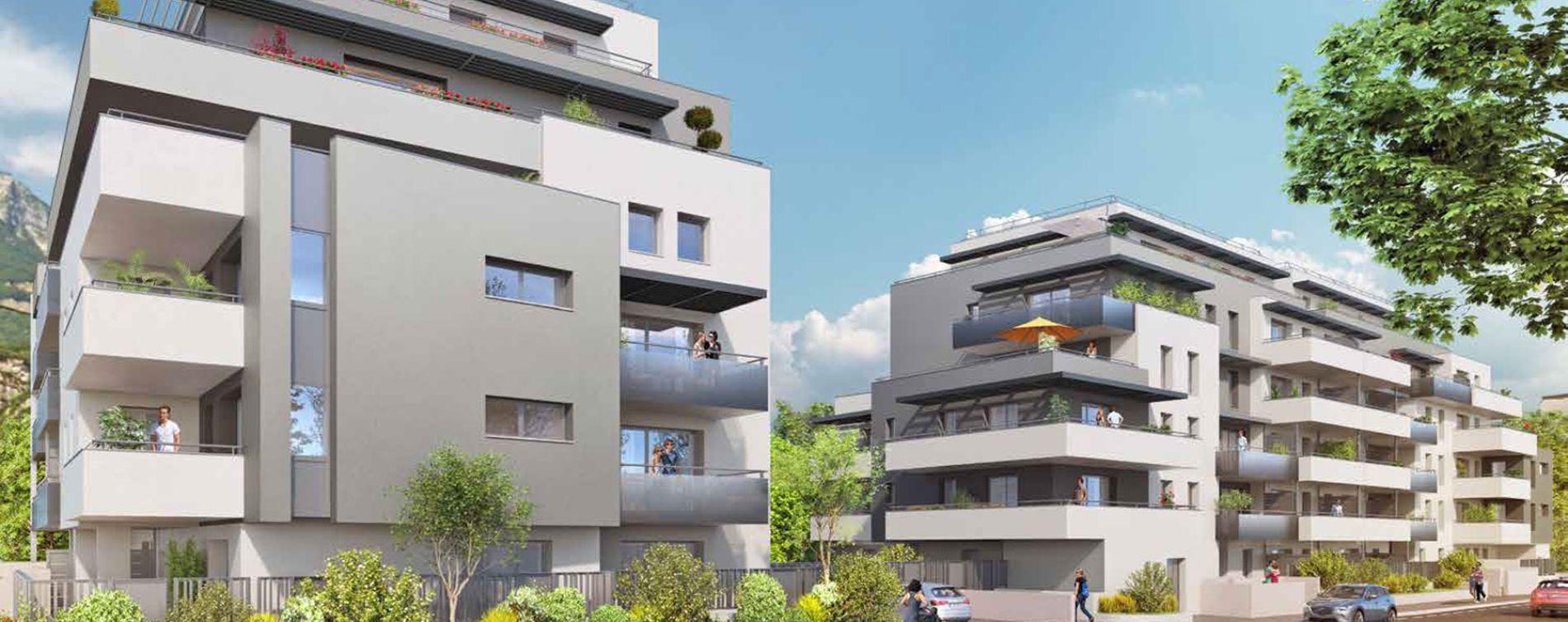 Le Pont-de-Claix : programme immobilier neuve « New Air »