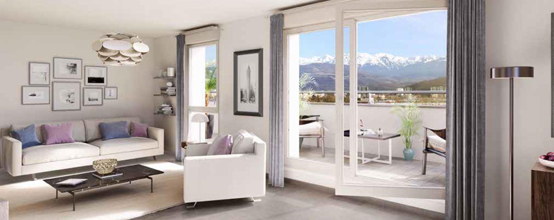 Le Pont-de-Claix : programme immobilier neuve « New Air » (2)