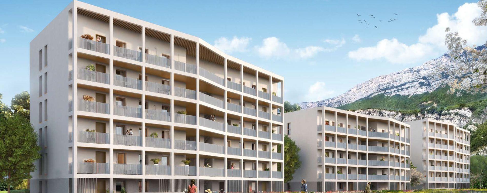 Le Pont-de-Claix : programme immobilier neuve « Toises & Moi »