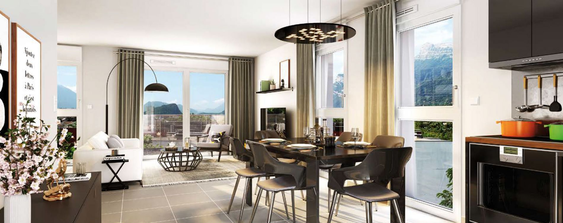 Le Pont-de-Claix : programme immobilier neuve « Toises & Moi » (2)