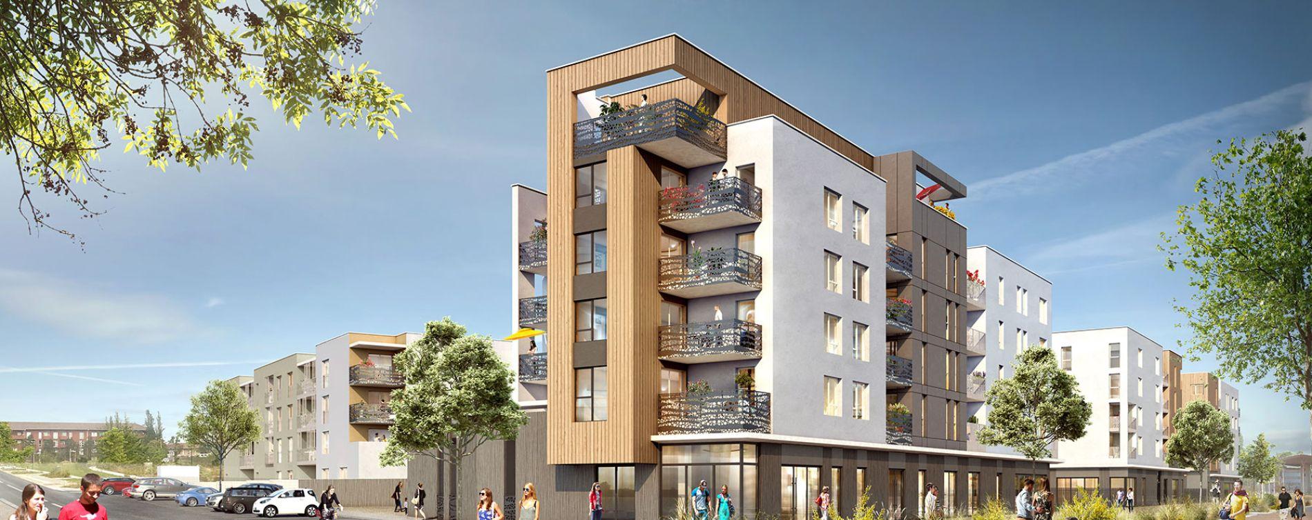 L'Isle-d'Abeau : programme immobilier neuve « D-Klik »