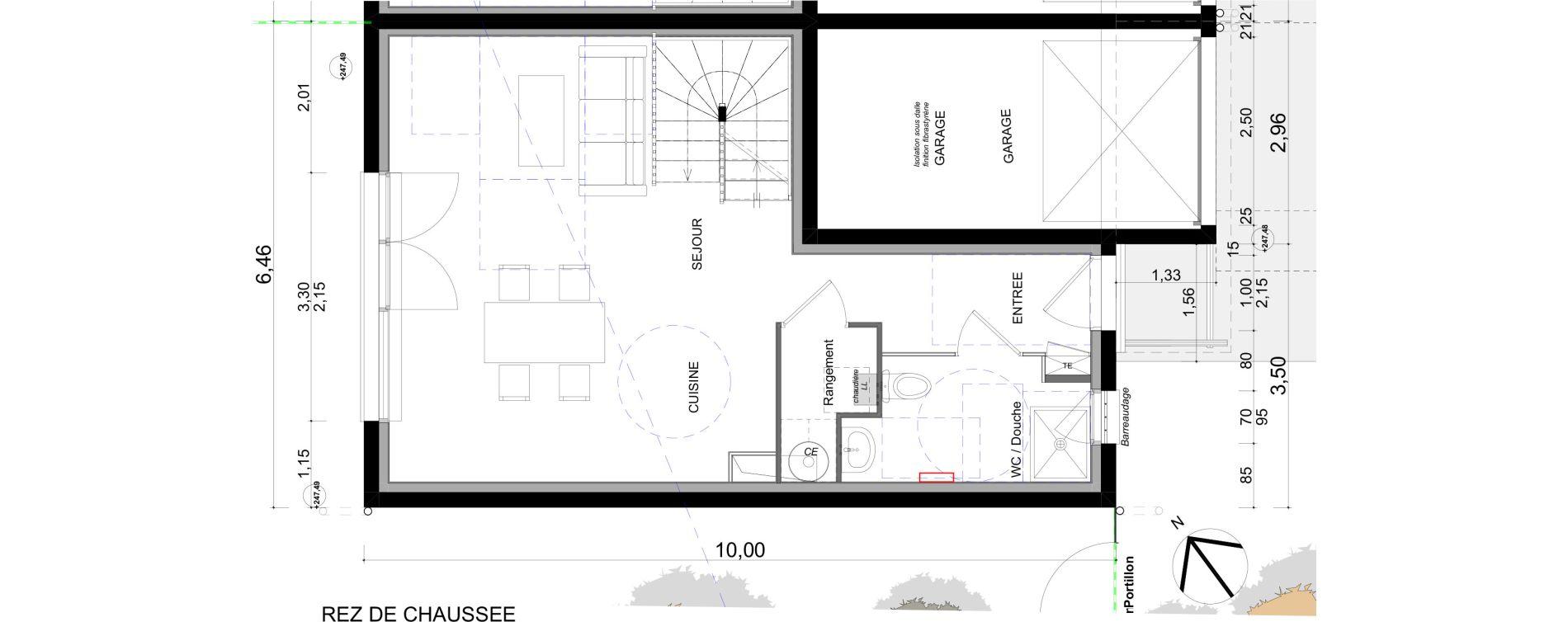 Maison T4 de 92,83 m2 à L'Isle-D'Abeau Centre