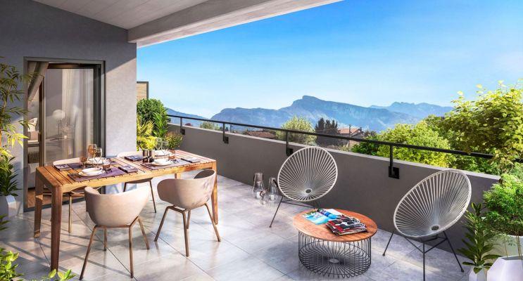 Moirans : programme immobilier neuf « Le Mail » en Loi Pinel
