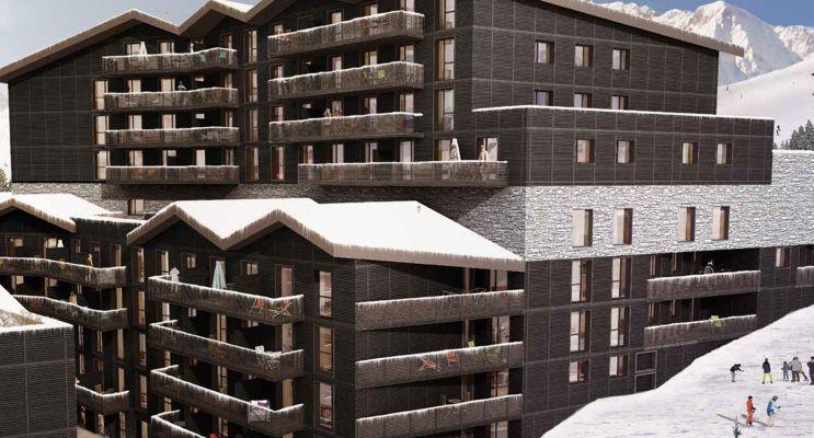 Mont-de-Lans : programme immobilier neuf « La Restanque »
