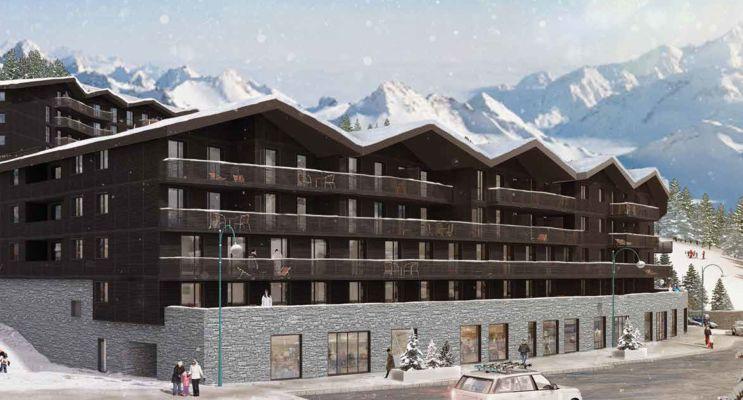 Mont-de-Lans : programme immobilier neuf « Le Hameau »
