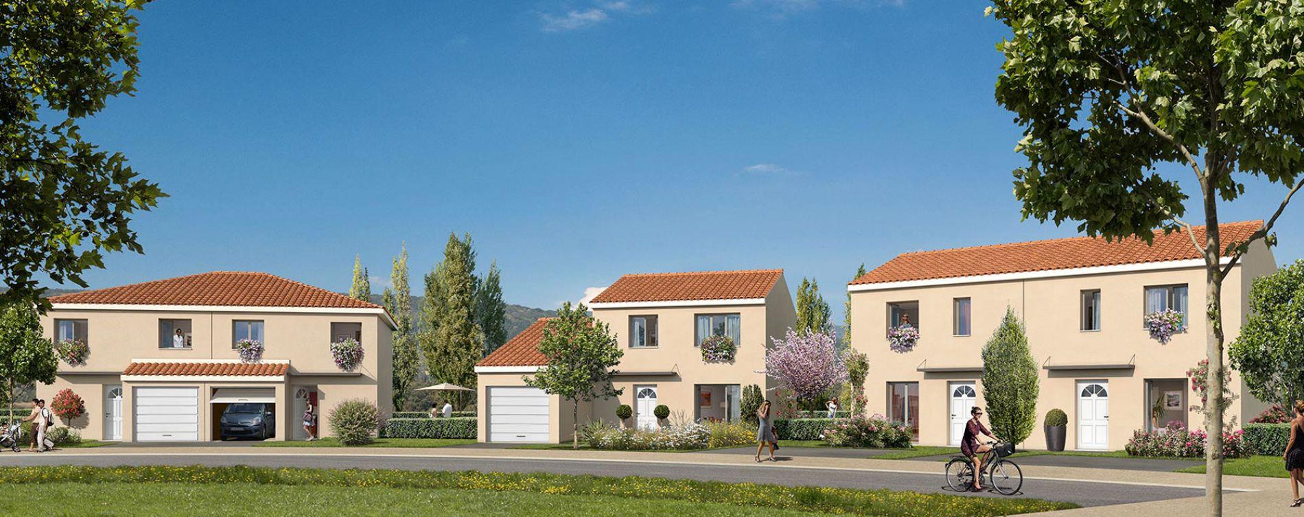 Pont-Évêque : programme immobilier neuve « Le Domaine d'Elise IV » (2)
