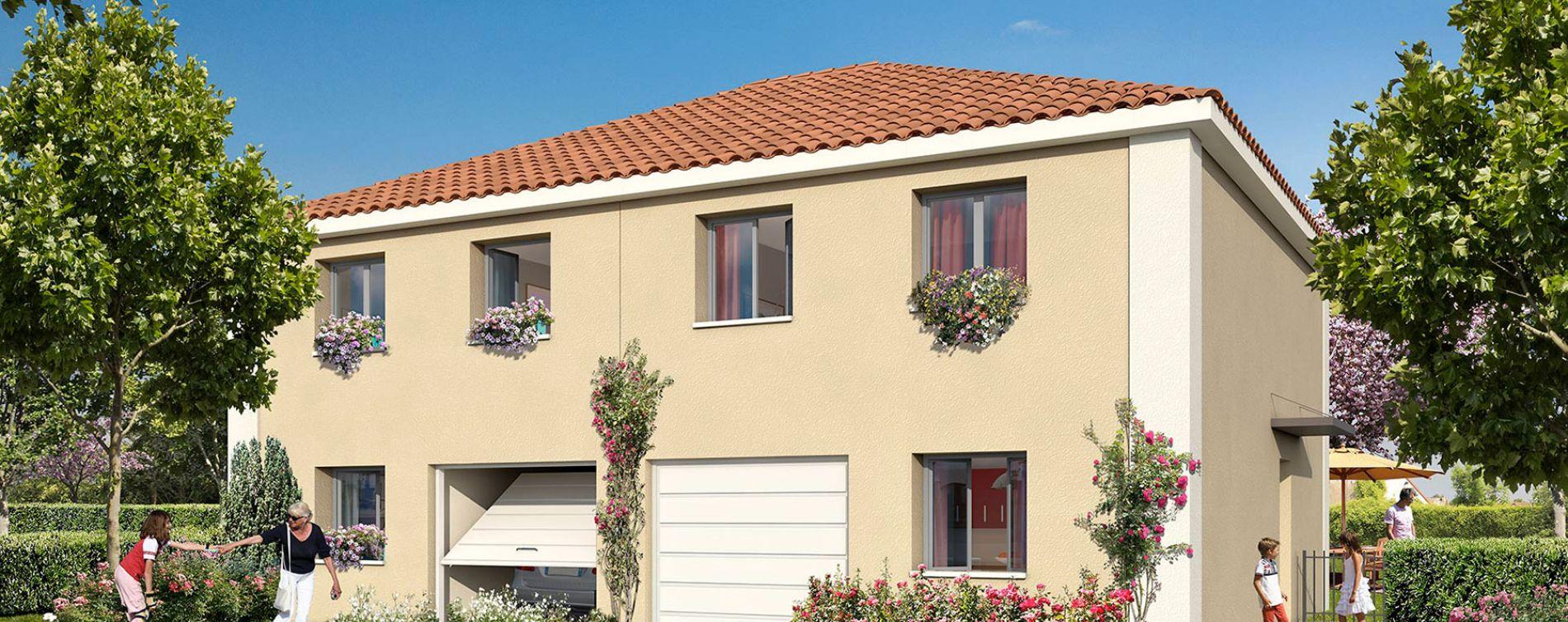 Pont-Évêque : programme immobilier neuve « Le Domaine d'Elise IV » (4)
