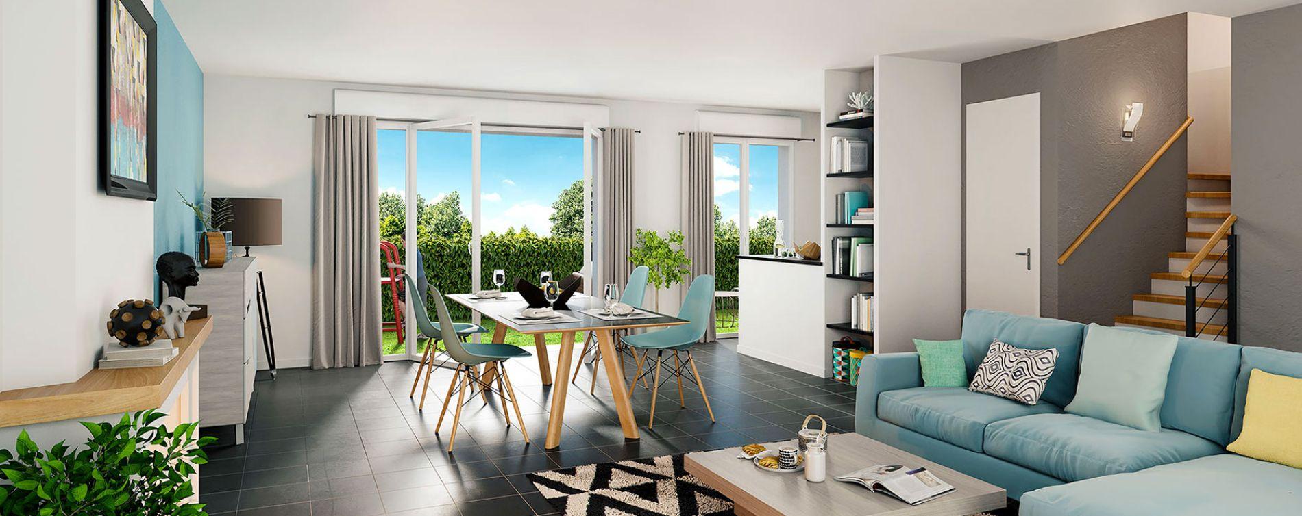Pont-Évêque : programme immobilier neuve « Le Domaine d'Elise IV » (5)