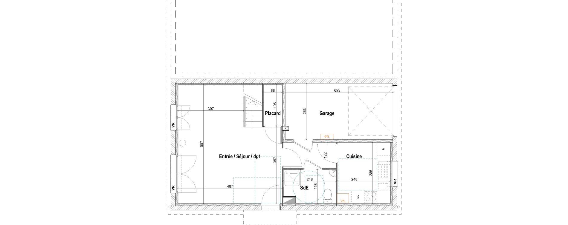 Maison T4 de 88,52 m2 à Pont-Évêque Centre
