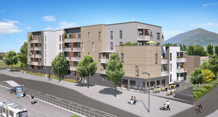 Photo du Résidence « Esprit Vence » programme immobilier neuf en Loi Pinel à Saint-Égrève
