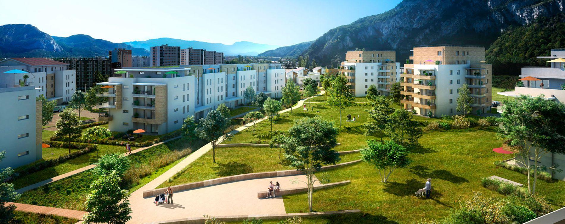 Résidence Domaine Parc & Village à Sassenage