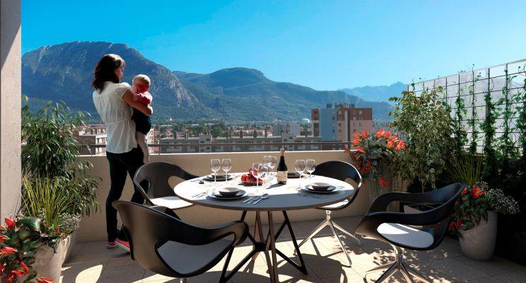 Sassenage : programme immobilier neuf « Résidence Vendôme » en Loi Pinel